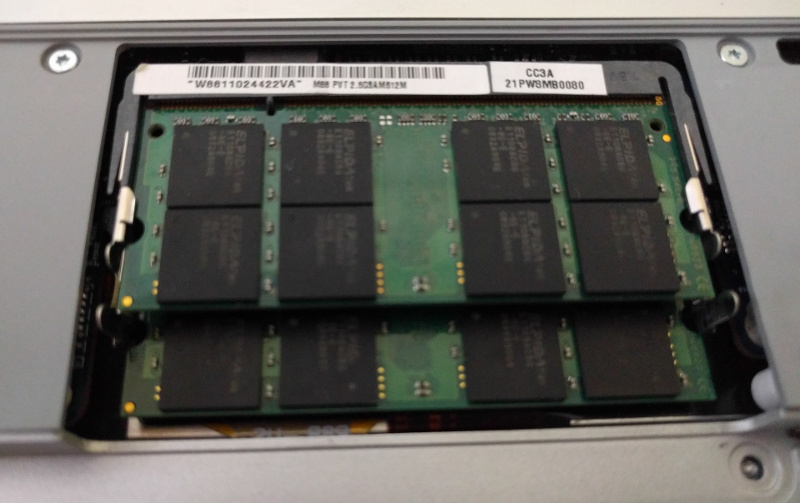 Apple Macbook memory