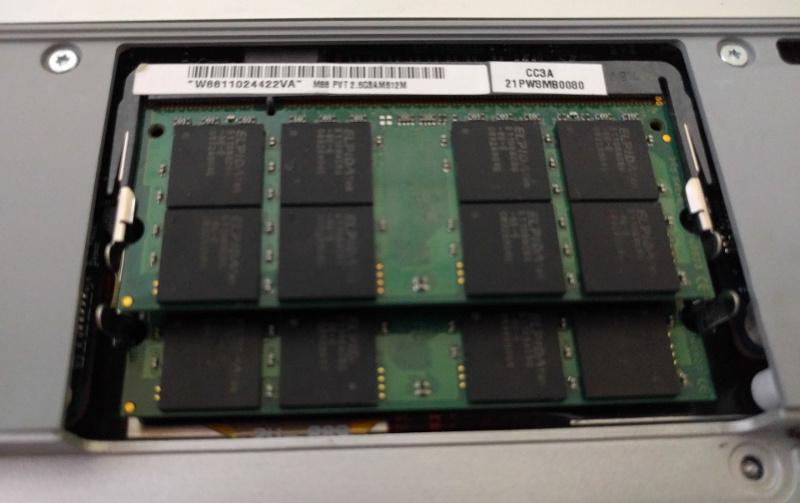 Apple Macbook memory