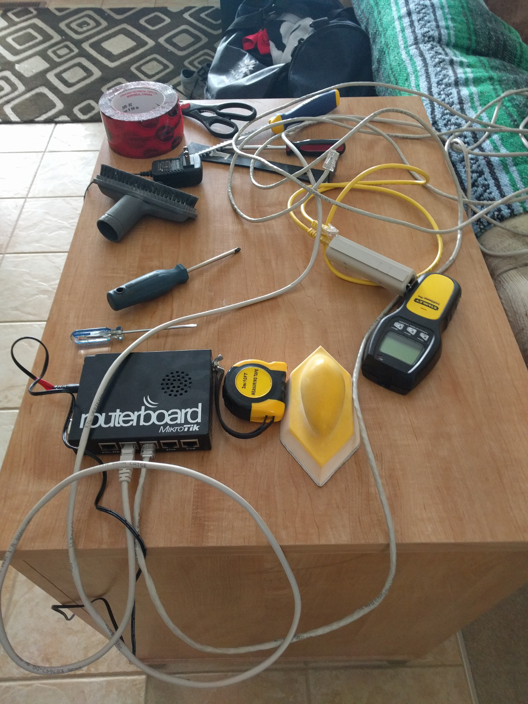 Home Lab Cat6 Wiring And Rack Calgary Rhce Basement Img 20170225 170725 20170308 122701 111422
