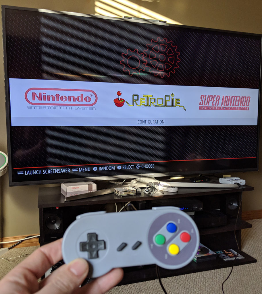 RetroPie emulation